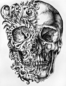 szkic tatuażu
