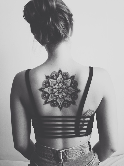Tatuaż Mandala 3 Na Blackwhite Zszywkapl