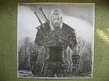 Rysunek wykonany ołówkiem z...