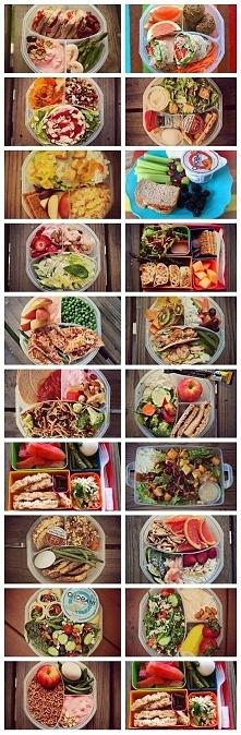 Zdrowy lunch do pracy, szkoły, czy na uczelnię.