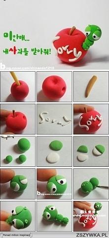 robaczek w jabłku