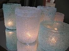 świeczki ze sloików