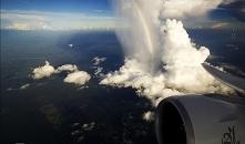 Niesamowite krajobrazy z  samolotu