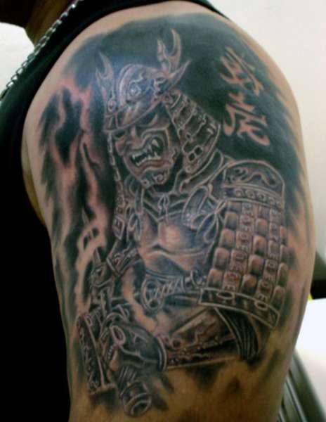 Tatuaż Wojownika Na Tatuaże Zszywkapl