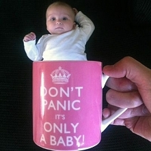 Don't Panic it's Only Baby :)