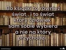 Bo książki...