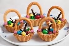 Wielkanocne koszyczki - przepis po kliknięciu w obrazek.