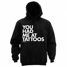 You had me at tattoos B-)