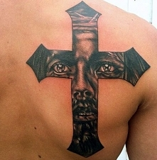 tatuaż Jezusa
