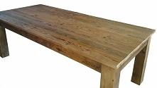 Stół ze starego drewna