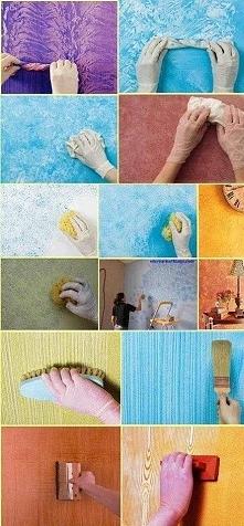 pomysł na malowanie ścian