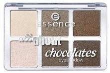 Nowa czekoladowa paleta cieni od Essence