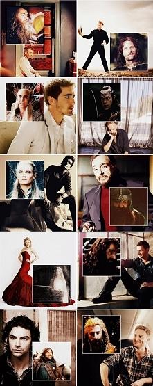 Hobbit/LOTR   aktorzy i postacie, które odgrywają :)