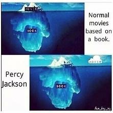 """Książka a film """"Percy Jackson i bogowie olimpijscy"""" - taka prawda"""