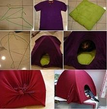 namiot dla kota :)