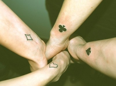 Dla Przyjaciół Na Tatuaże Zszywkapl