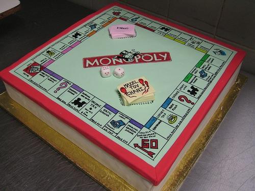 Tort Monopol Na Ciasta I Ciasteczka Inspiracje Gry Planszowe