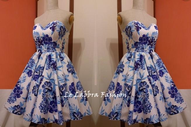 Le Labbra Fashion Szyta na miarę krótka suknia, sukienka