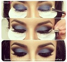Świetny patent na mocniejszy makijaż ;)