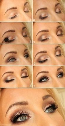 Idealny i zmysłowy makijaż na randkę lub na ważne wyjście w kolorze świetlistego brązu <3