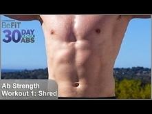 Ab Strength Workout - Dzień 1 ze Scott'em Herman'em :3 Ja jestem przy dniu 7, a Wy? ;)