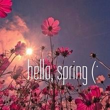 wiosna tuż tuż