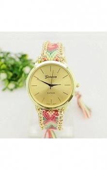 Zegarek Geneva z paskiem z ...