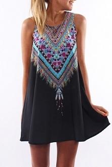 sukienka à la hipis