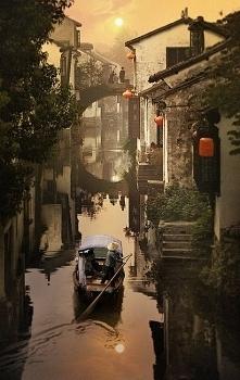 Sunset, Suzhou, China