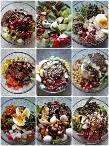 Codziennie inna sałatka przez 2 tygodnie. Samo zdrowie!