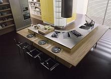 Duża wyspa w kuchni - calvado