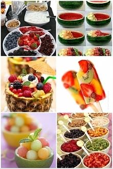 owocowy raj na imprezach