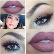 Makijaż idealny! Piękne brwi, fantastycznie podkreślone oczy i cudowny kolor ust!