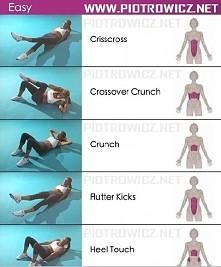 Ćwiczenia na brzuch :D