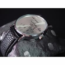 """Zegarek z napisem na tarczy """"who cares I'm already late"""" - 20,99zł - klik w zdjęcie"""