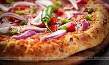 Pizza ratatuj z kurczakiem