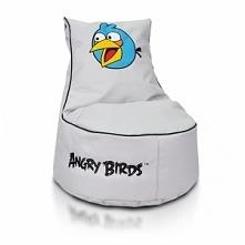 PUFA BLUE BIRDS SEAT S - piękna pufa idealna do pokoju Twojego dziecka za jed...