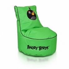 zielona pufa Angry Birds za jedyne 399 zł - PUFA BLACK BIRD-BOMB SEAT S - dow...