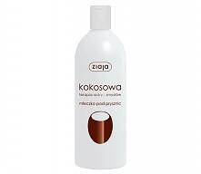 Kokosowe mleczko pod prysznic- moje ulubione. Uwielbiam smak i zapach kokosu,...