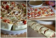 Zakręcona Pizza  Przepis po kliknięciu w zdjęcie :)