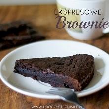 Pyszne ekspresowe brownie:)