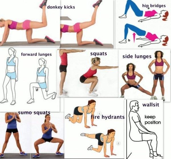 trening nóg