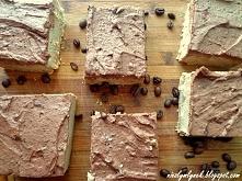 Ciasto kawowo - bananowe  przepis na blogu, link w komentarzach