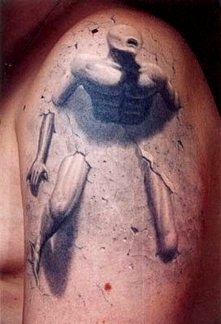 tatuaż 3d