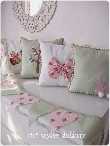 ozdobne poduszki ;)