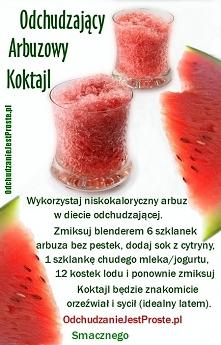 koktajl arbuzowy