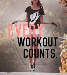 Każdy trening się liczy *.*