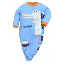 Coś dla niemowlaków:)  Pajac Niemowlęcy Krokodyl - Crocodilo Koala - bawełnia...