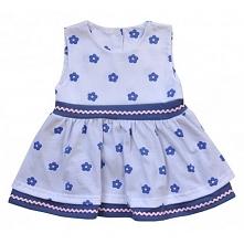 Tym razem coś już na lato dla niemowląt.   Śliczna, Letnia Sukieneczka dla Ni...
