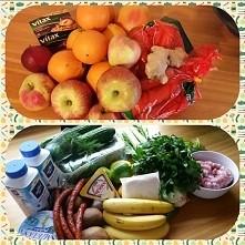 """Zdrowe jedzenie nie jest drogie ☺ """"Zielony"""" zestaw to koszt 50zł a ..."""